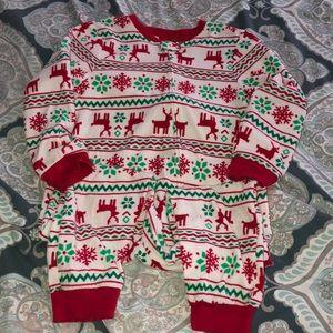 Pajamas - Christmas onesie jammies